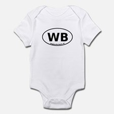Wrightsville Beach Infant Bodysuit