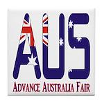 AUS Australia Tile Coaster