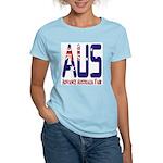 AUS Australia Women's Pink T-Shirt