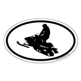 Snowmobiling Bumper Stickers