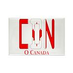 CDN Canada Rectangle Magnet (10 pack)