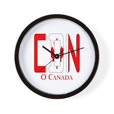 CDN Canada Wall Clock