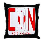 CDN Canada Throw Pillow