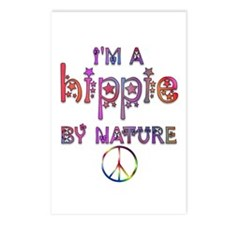 Hippie By Nature Retro Postcards (Package of 8)