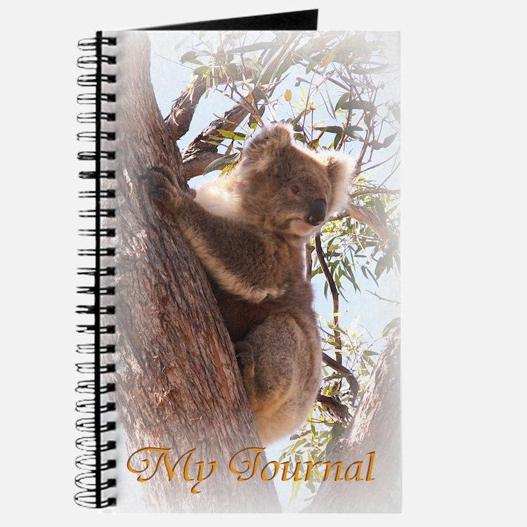 Cute Australian koala Journal