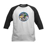 Xmas Magic / 3 Boxers Kids Baseball Jersey