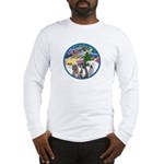 Xmas Magic / 3 Boxers Long Sleeve T-Shirt
