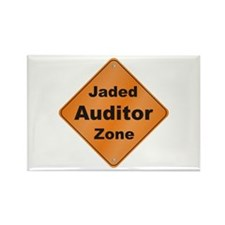 Jaded Auditor Rectangle Magnet