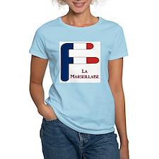F France Women's Pink T-Shirt