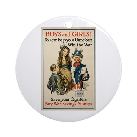 Boys and Girls Ornament (Round)