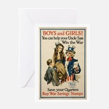 Boys and Girls Greeting Card