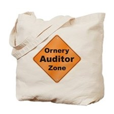 Ornery Auditor Tote Bag