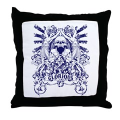 Glorious Throw Pillow