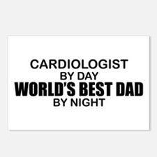 World's Best Dad - Cardiologist Postcards (Package