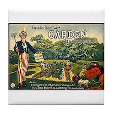 Uncle Sam Says Tile Coaster