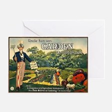 Uncle Sam Says Greeting Card