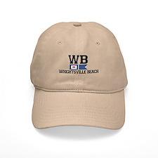 Wrightsville Beach NC - Nautical Flags Design Baseball Cap