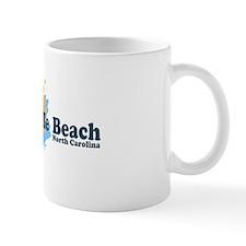 Wrightsville Beach NC - Seashells Design Mug
