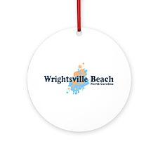 Wrightsville Beach NC - Seashells Design Ornament