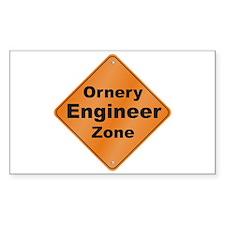 Ornery Engineer Decal