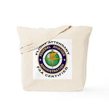 FAA Certified Flight Attendant Tote Bag