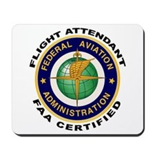 FAA Certified Flight Attendant Mousepad