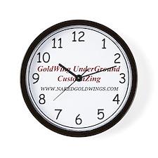 GoldWing Shop #Underground Wall Clock
