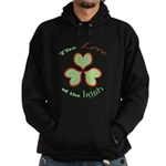 Love of the Irish Hoodie (dark)