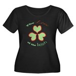 Love of the Irish Women's Plus Size Scoop Neck Dar