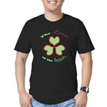 Love of the Irish Men's Fitted T-Shirt (dark)