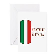 I Italy Greeting Cards (Pk of 10)