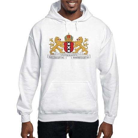 Amsterdam Coat Of Arms Hooded Sweatshirt