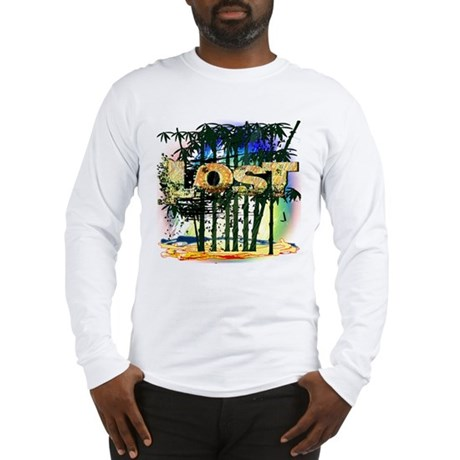 Lost Bamboo Jungle Long Sleeve T-Shirt