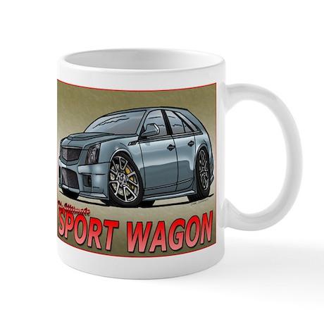 Silver CTS-V Wagon Mug