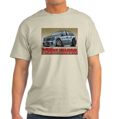 Silver CTS-V Wagon Light T-Shirt