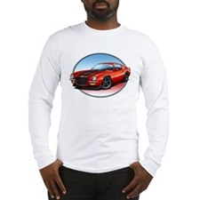 Red 70s Camaro Long Sleeve T-Shirt