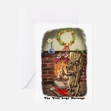 The Yule Logs Revenge Style I Greeting Cards (Pk o