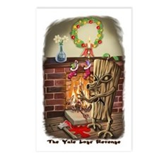 The Yule Logs Revenge Style I Postcards (Package o