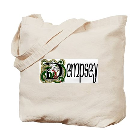 Dempsey Celtic Dragon Tote Bag