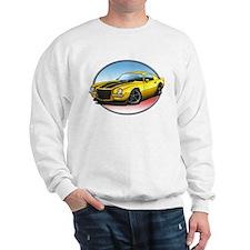 Yellow 70s Camaro Sweatshirt