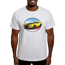 Yellow 70s Camaro T-Shirt