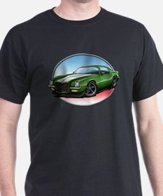Green 70s Camaro T-Shirt