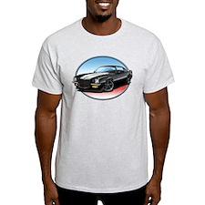 Black 70s Camaro T-Shirt