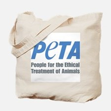 PETA Logo Tote Bag
