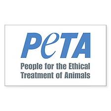 PETA Logo Bumper Stickers