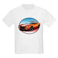 Orange 70s Camaro T-Shirt