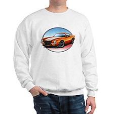 Orange 70s Camaro Sweatshirt