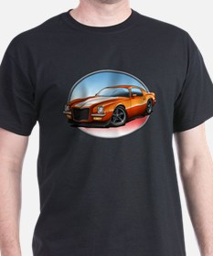 Orange 70s Camaro T-Shirt