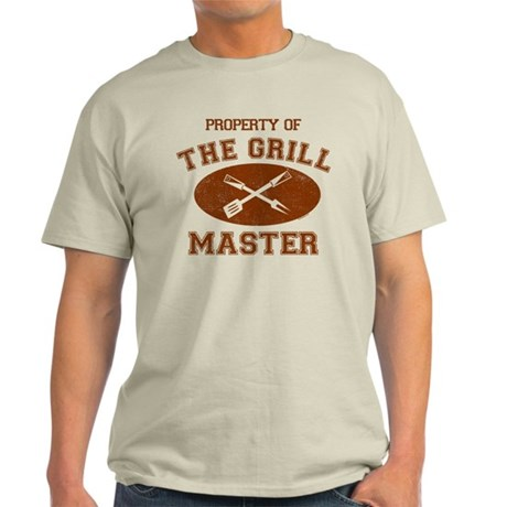 Property of Grill Master Light T-Shirt