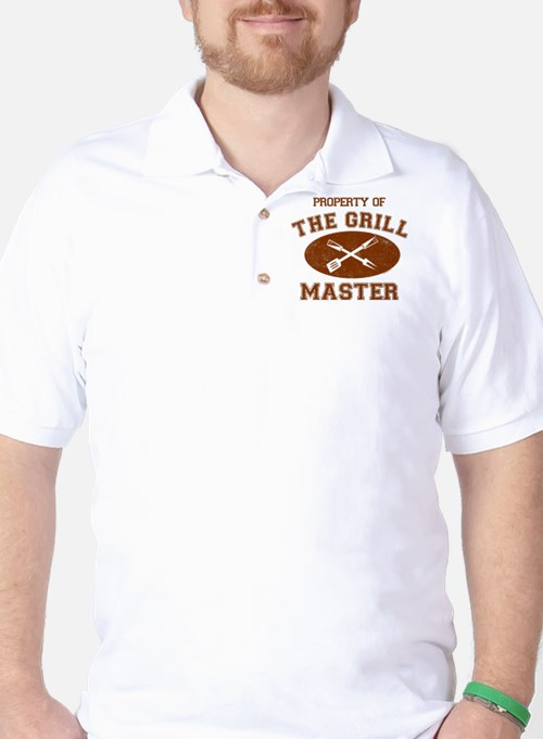 Property of Grill Master Golf Shirt